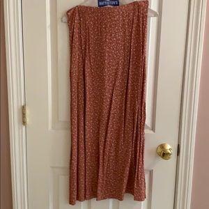 Talbots printed designer skirt
